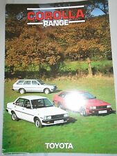 Toyota Corolla brochure Feb 1983