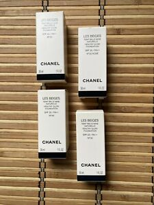 Chanel Les Beiges Healthy Glow Foundation 20, 21, 22, 30, 40, 50 new&boxed