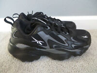 Reebok DMX Series 1000 Unisex Men/Women Black/Gray Walking/Running Shoes Size 7