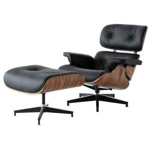 Modern Classic Lounge Chair with ottoman