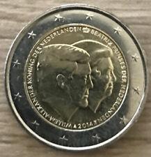 Pièces de 2 euros des Pays-Bas, année 2014