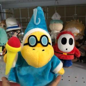 New Super Mario Bros. Plush Magikoopa Kamek Soft Toy Stuffed Animal Doll