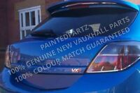 NEW MK5 ASTRA H 3 DOOR VXR SRI XP TAILGATE BOOT STRIP HANDLE ARDEN BLUE METALLIC