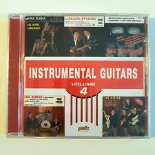 INSTRUMENTAL GUITARS #4 ♦ New REMASTERED French CD ♦ GOLDEN STRINGS, LES AIGLES