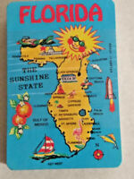 Vintage PLAYING CARDS Cards FLORIDA Sunshine State Souvenir ~ Ships FREE
