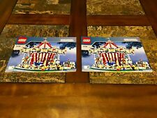 LEGO GRAND CAROUSEL 10196 REPLACEMENT MANUALS INSTRUCTIONS ONLY!  NO LEGOS!