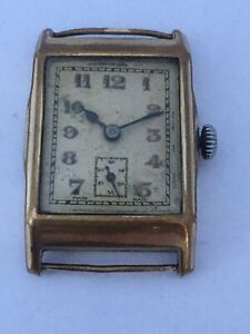 Vintage 1940's Mechanical Watch For Spares Or Repair