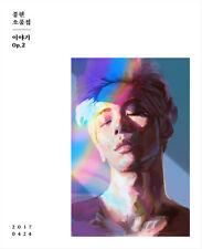 SHINEE JONGHYUN [THE STORY OP.2] Album CD+POSTER+Photo Book+4p Card K-POP SEALED