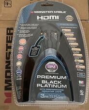 Monster UltraHD 4K Premium Black Platinum Ultimate High Speed HDMI Cable 3m
