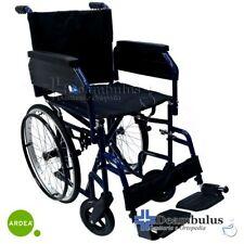 Sedia a rotelle spazi stretti 54 cm carrozzina pieghevole seduta 43 cm disabili