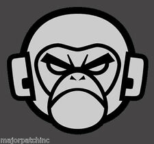 ANGRY MONKEY LIGHT TACTICAL VINYL DECAL STICKER MILITARY CAR VEHICLE WINDOW