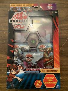 Bakugan Battle Planet Battle Brawlers Card Collection 2 Bakucores Jumbo Card New