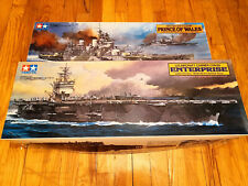 TAMIYA US Aircraft Carrier Enterprise + British Battleship Prince of Wales 1/350