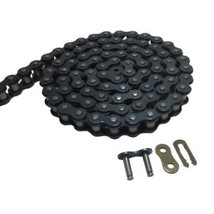 For Replacing Mini Bikes #40 5 Feet 10 Feet Roller Chain with 1 connecting chain