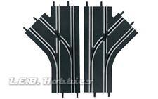 Carrera GO!!! Mechanical Lane Change Sections for 1/43 slot car track 2/pk 61618