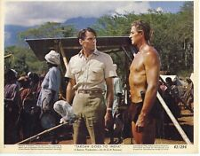 JOCK MAHONEY TARZAN GOES TO INDIA  ORIGINAL 8X10 LOBBY CARD #2