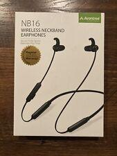 Avantree Bluetooth Neckband Headphones Earbuds Magnetic Wireless Earphones w/Mic