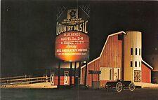 Tennessee postcard Pigeon Forge Bill Owens Smoky Mountain Music Barn night