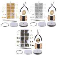 Jewelry Making Supplies Kit Earrings Necklace Beading Wires Repair Tools