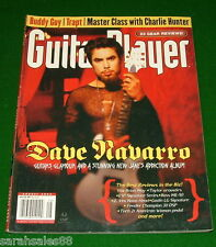 Dave Navarro Guitar Player, Dr Rhythm, Boss ME-50, Taylor 110 514-CE BBE DI-100X