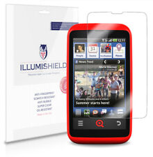iLLumiShield Phone Screen Protector w Anti-Bubble/Print 3x for INQ Cloud Touch