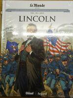 Les Grands Personnages de l'Histoire en BD Vol 34: Lincoln | Glénat |2020 *Neuf
