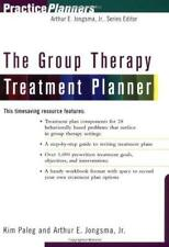 The Group Therapy Treatment Planner by Arthur Jongsma