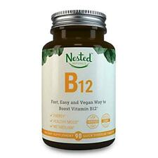Vitamin B12 2500mcg Methylcobalamin Fast Dissolve Boost Energy Nested Naturals