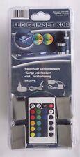 LED CLIP SET RGB • 4er Set • Farbwechsler steuerbar • inkl. Fernbedienung