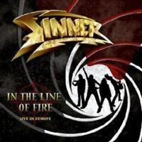 """SINNER """"IN THE LINE OF FIRE"""" CD NEW+"""