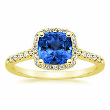 1.61 ct Natural Diamond Gemstone Ring Solid real 14kt Gold Band Size K L M O
