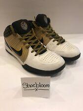 Nike Zoom Kobe IV 4 White Del Sol OG Release Lakers PE Size 10.5
