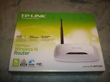 TP-LINK TL-WR740N WIRELESS N150 HOME ROUTER 150MBPS WIFI WPS BUTTON NEW SEALED