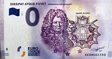Billet 0 Euro DISSIPAT ATQUE FOVET