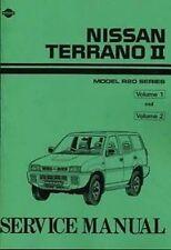 NISSAN Terrano II 2.4 Petrol & 2.7 TDI 1993 0n Shop manual 2 Volumes Book Paper