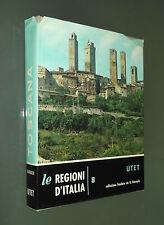 LE REGIONI D'ITALIA. VOL. 8. TOSCANA. UTET. BARBIERI. 1972