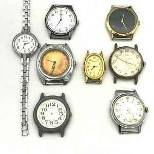 Soviet Wristwatch WHOLESALE Luch Zarya ZIM Vympel TESTED Mechanical USSR LOT 8ps