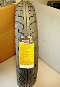 SHINKO FRONT TIRE TYRE MOTORCYCLE 110/90-19 SR 712 F 62H SABRE MAGNA HARLEY