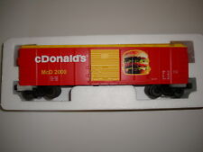 """MTH O-Gauge Train Box Car """"ONE OF A KIND"""" c Donalds  30-74024 No letter """"M"""" NEW"""