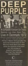 4/8/90 Pgn11 Advert: Deep Purple A Complete Concert On Video Denmark72 8x3