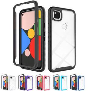 Für Für Google Pixel 4a Hülle Case Cover Schutz Tasche Schale Bumper