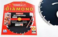 Diamanttrennscheibe Trennscheibe Ø 350mmx25,4mm