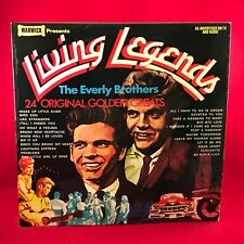 EVERLY BROHERS Living Legends 1979 UK Vinyl LP EXCELLENT CONDITION best of A