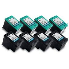 8 Recycled HP 92 93 Ink Cartridge C9362WN C9361WN PhotoSmart C3180 C4180 Printer