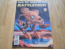 Battletech - Guía del Juego de Rol - Zinco 1994 - Mechwarrior