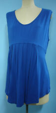 Cool long blue top plus size 26 NEW summer