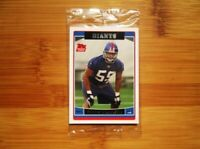 2006 Topps Football New York Giants ROOKIE Factory Sealed Bonus Pack