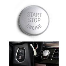 Silver Engine Start Stop Switch Button Replace Cover For BMW E60 E70 E83 E90 E92