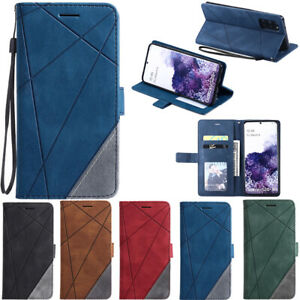 For Samsung Galaxy Note 20 S20 Ultra S10 S9 Wallet Flip Leather Phone Case Cover