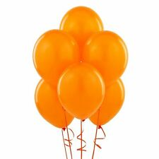 Pack of 25 Orange 12 INCHES LATEX PEARLISED BALLOONS PARTY WEDDING BIRTHDAY